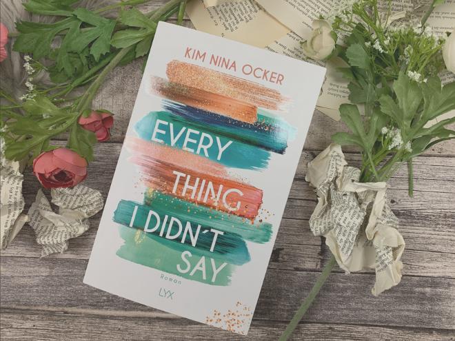 """Im Gespräch mit Kim Nina Ocker - Autorin von """"Everything I didn't say"""" im LYX-Verlag."""